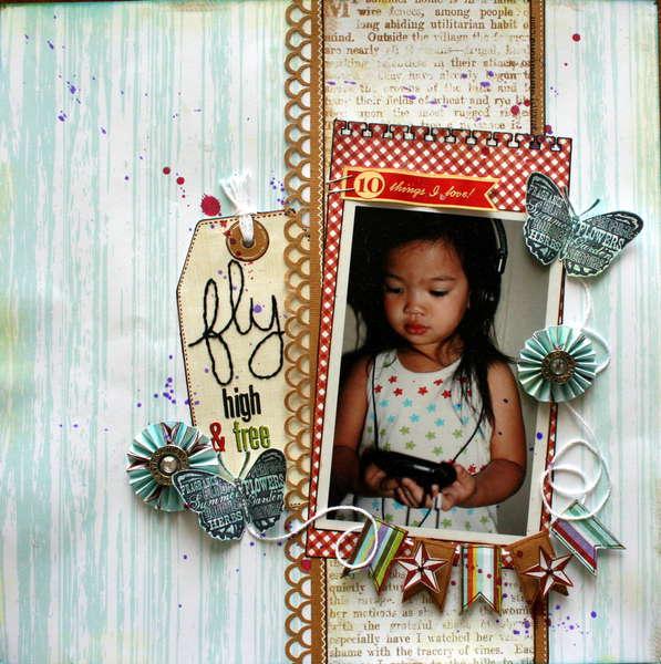 fly high & free Nook June kit
