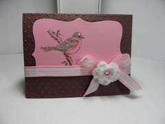 Bird Card for a friend