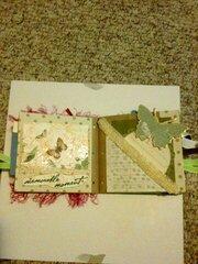 Paperbag album for Martica's secret Swap
