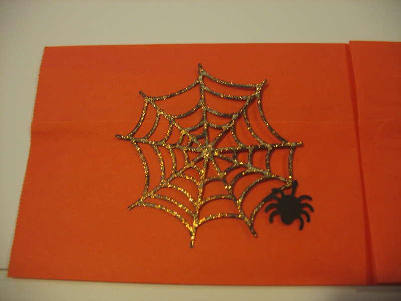 Spider Web Diecut