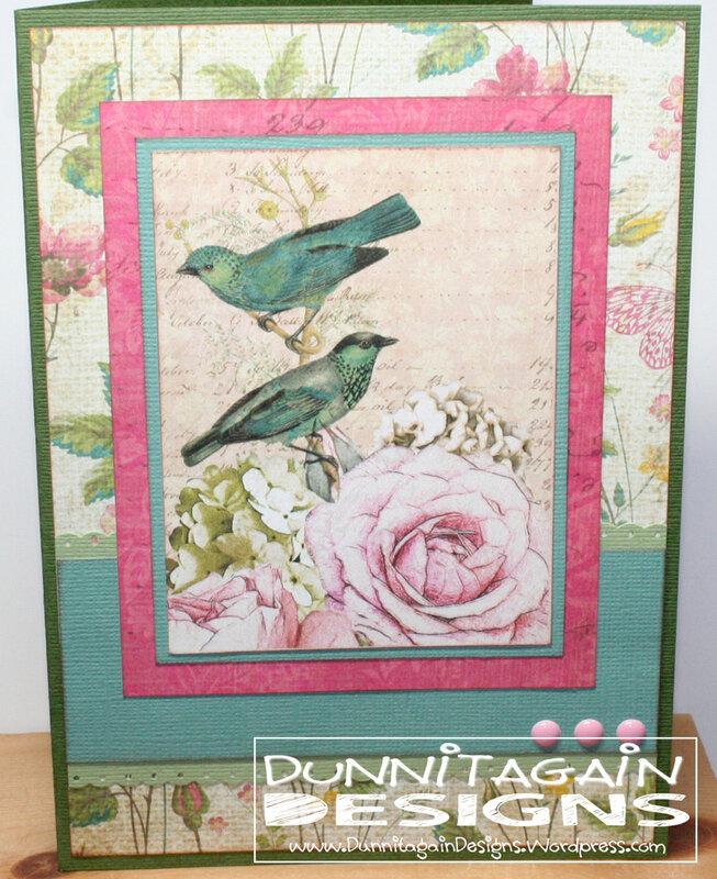 Bird w rose