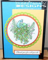 Peacock Thank You