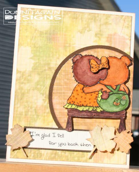 Fall Anniversary Card