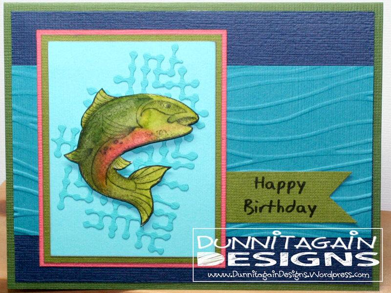 Fish abstract water
