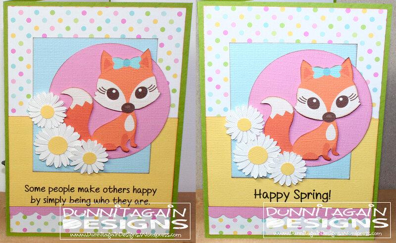 Happy Spring Fox