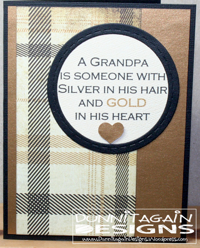 Grandpa Gold Heart