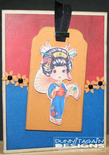 Japanese Tag Card