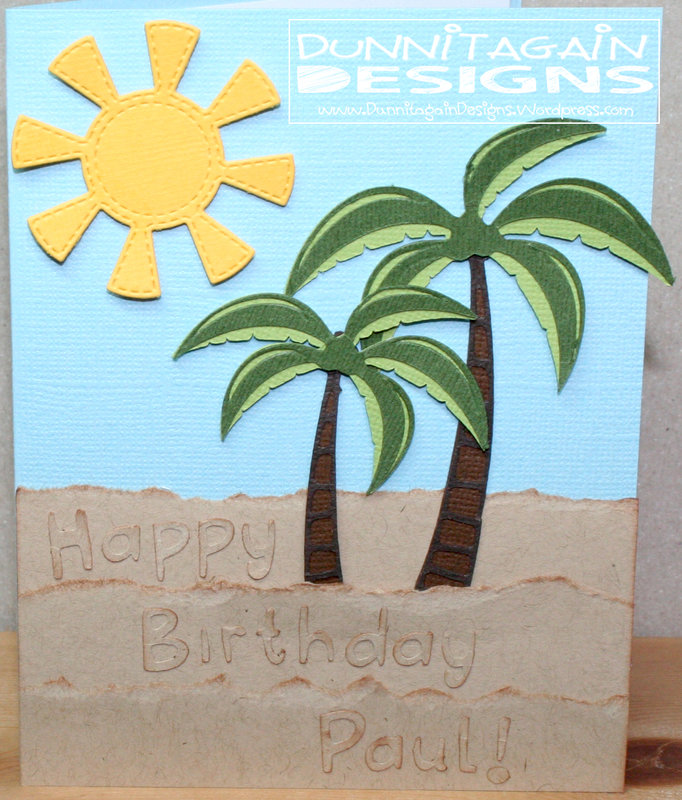Palm Trees Birthday