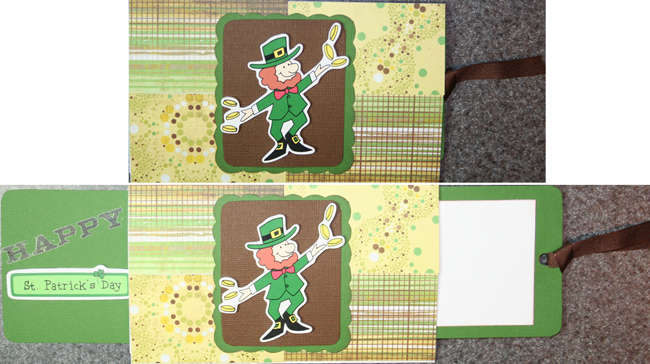Happy St. Patrick's Day (pulley card)