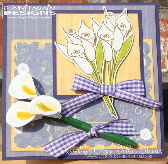 Calla Lilies Easter Card