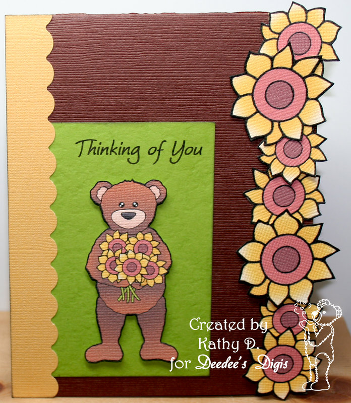 Sunflower Teddy