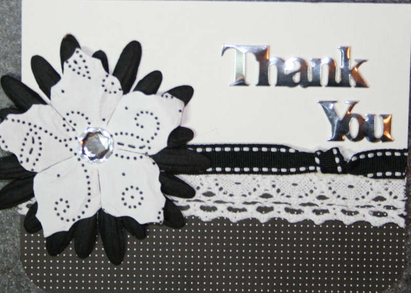 Thank you (black and white)