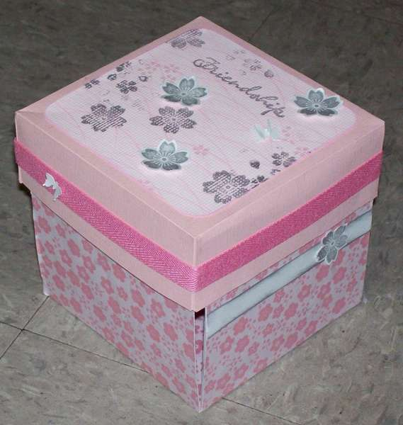 Pink Friendship Exploding Box
