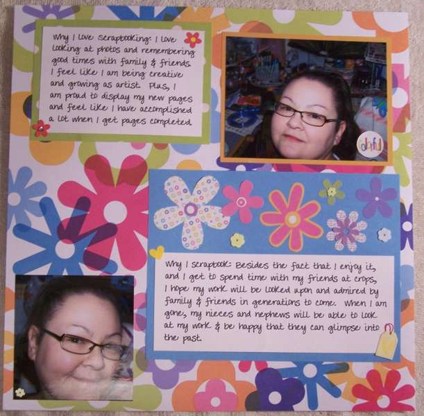 12x12 I love scrapbooking pt. 2