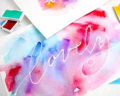 Lesson 4 - How to Use Masking Fluid in Your Watercolor Artwork