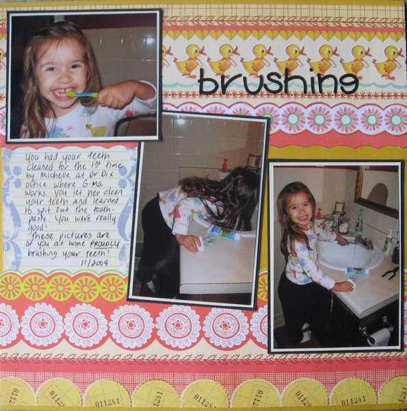 brushing