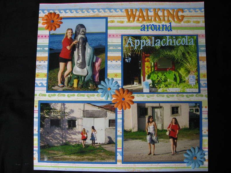 walking around appalachicola