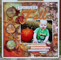 It's your very first Fall