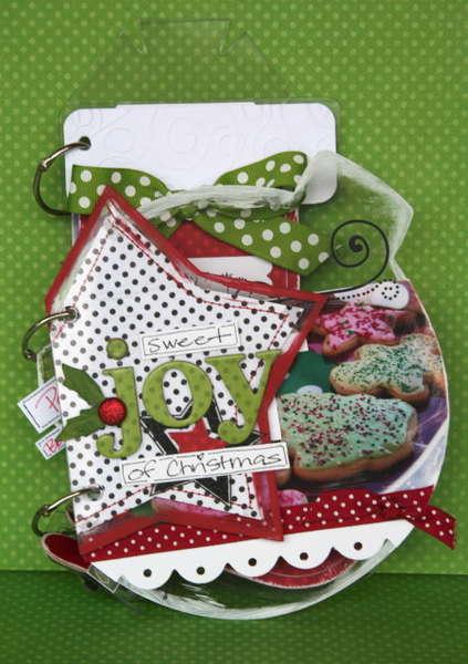 Sweet Joy of Christmas--Bo Bunny Acrylic album