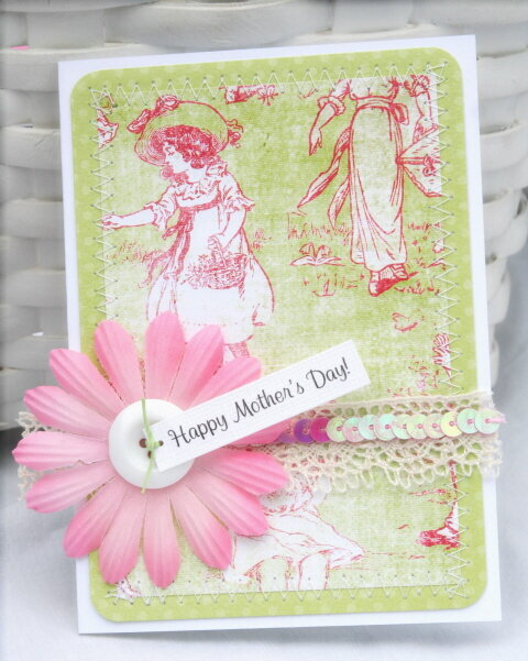 Happy Mother's Day card set