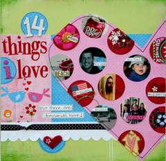 14 Things I Love