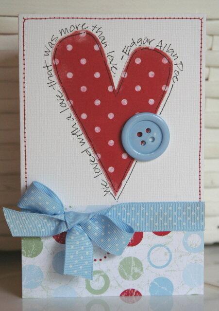 More than love--card