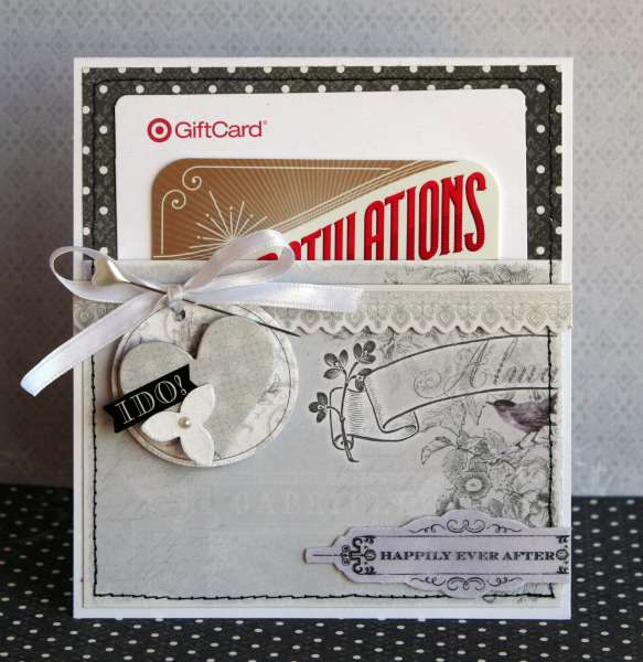 I Do Gift Card Pocket Card