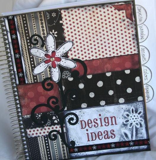 Design Idea Book +Inspired by Mellette's in Scrapbook's Etc.