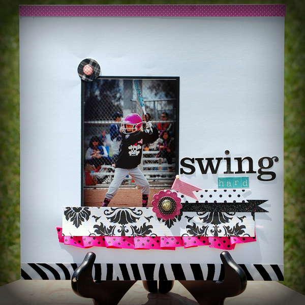 Swing Hard - Softball Layout