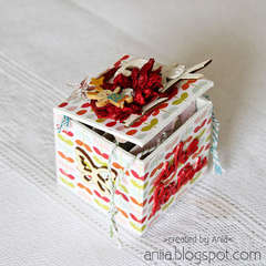 Vintage Memory Box ** NEW MAYA ROAD CHA-S 2012**