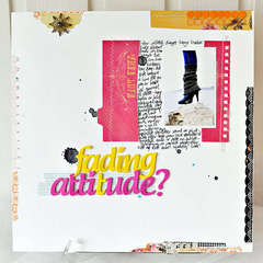 Fading attitude? ** NEW Pink Paislee **