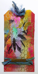 Flight of the Painted Butterfly... March 12 Tags of 2015