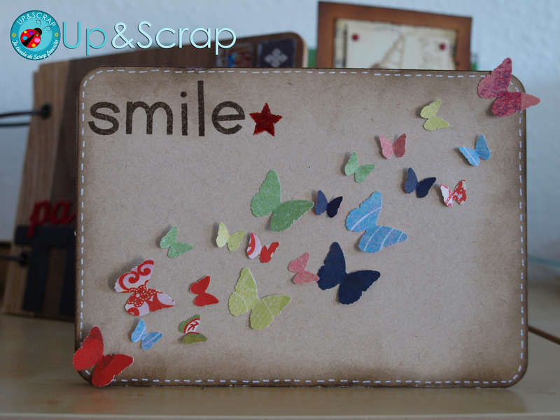 Smile butterfly card