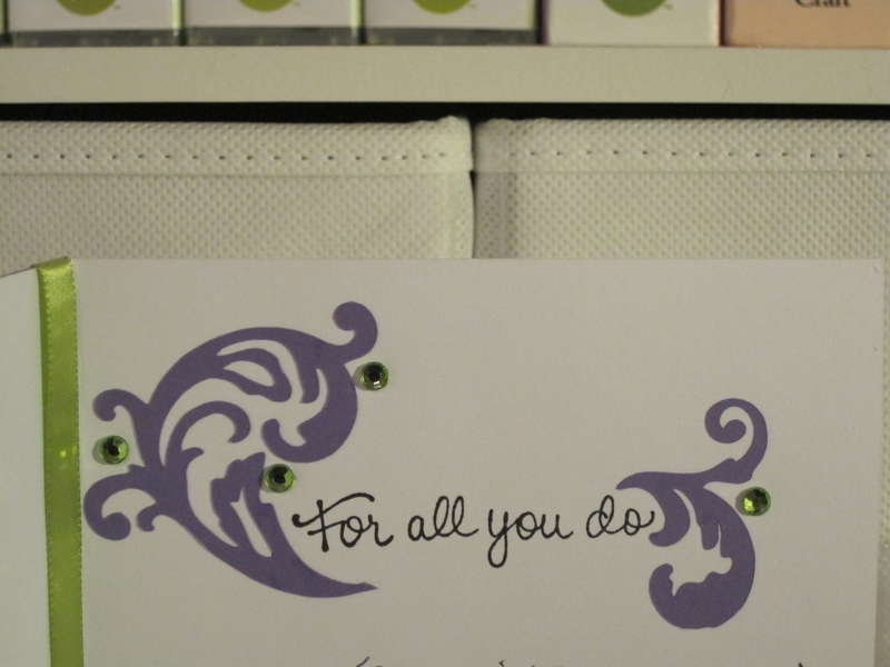 Grateful card - inside