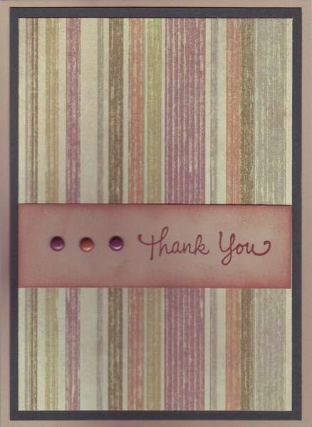Guy's Thank You card