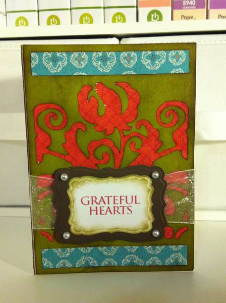 Grateful Hearts card