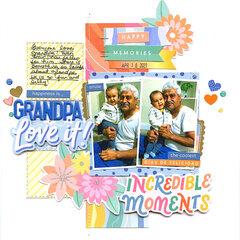 happiness is....grandpa