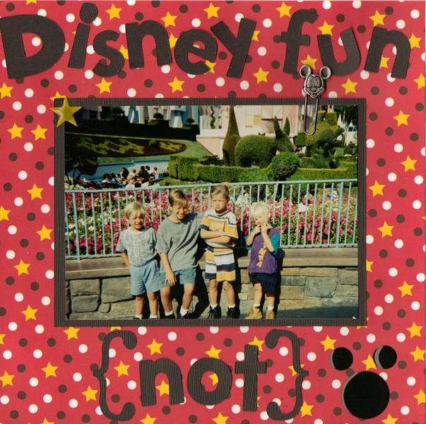 Disney Fun (not)