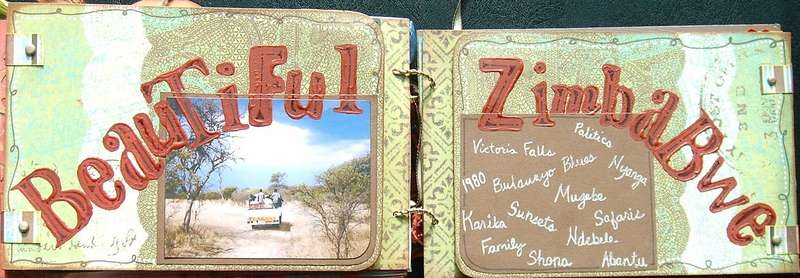 Heather's Book {pg12 - Beautiful Zimbabwe}