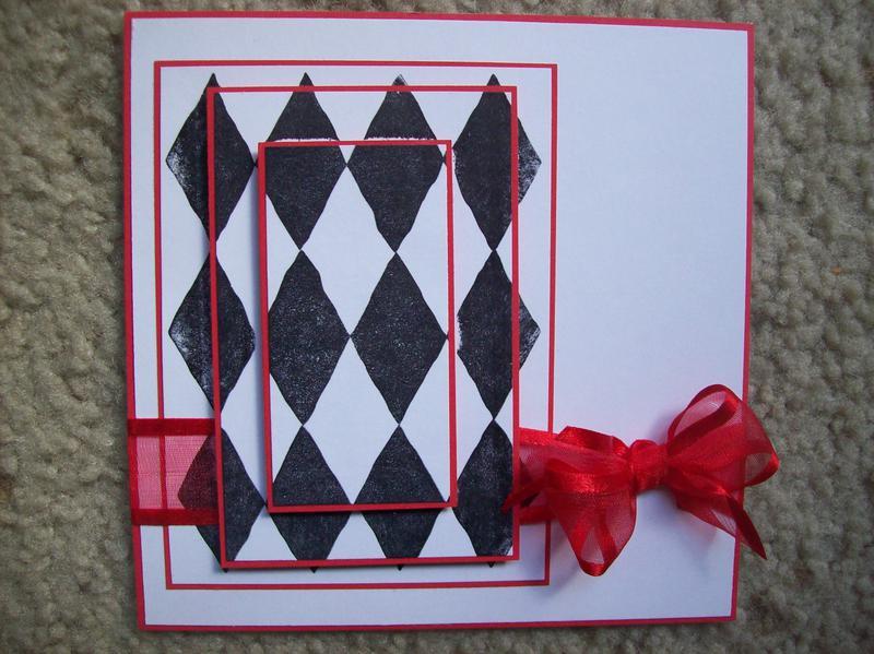 Black & Red Card