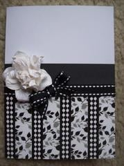Black & White Card