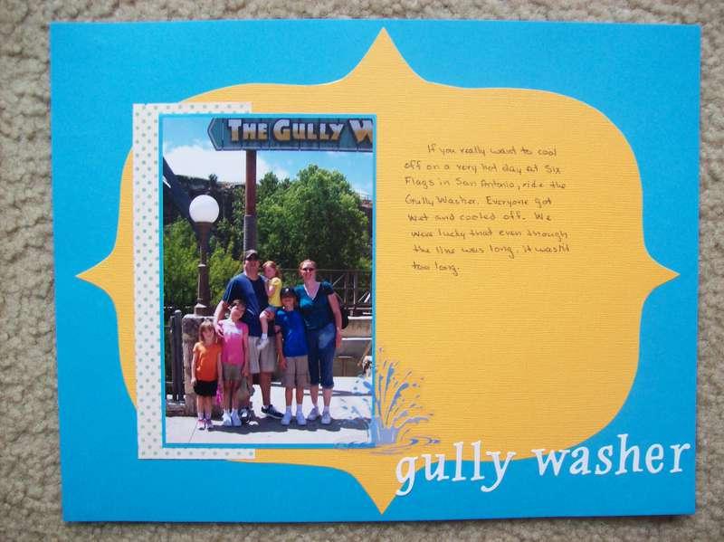 gully washer