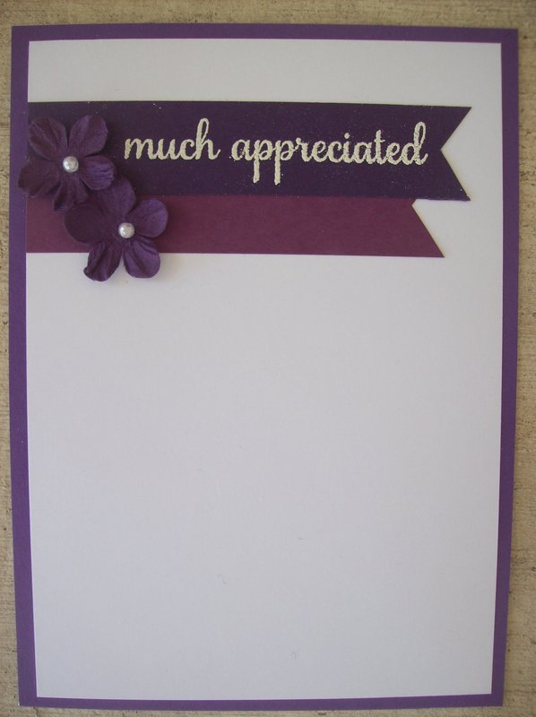 Much Appreciated