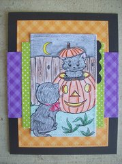 Cute Halloween Card