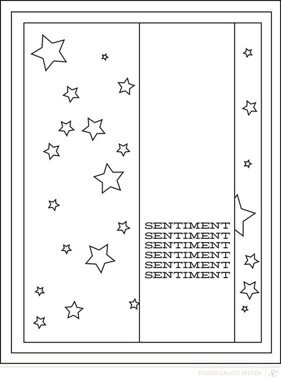 November Card Sketch Challenge - Sketch #4