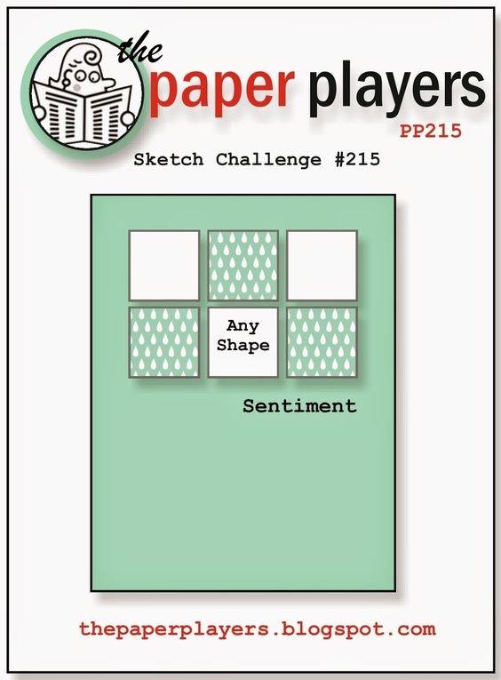 October Card Sketch Challenge - Sketch #5