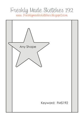 October Card Sketch Challenge - Sketch #4