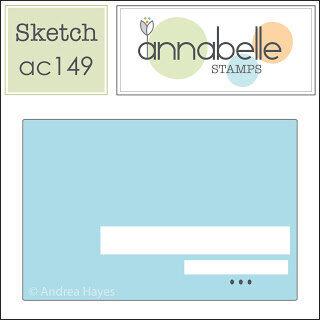 April 2021 Card Sketch Challenge - Sketch #4