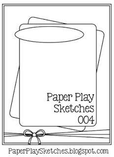 April 2021 Card Sketch Challenge - Sketch #5