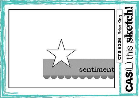 October 2019 Card Sketch Challenge - Sketch #4